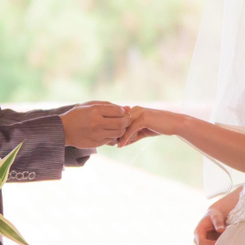 再婚の場合の結婚式のイメージ