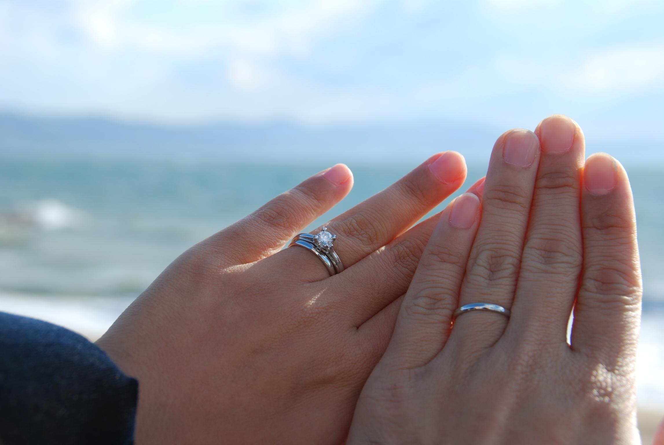 50代再婚指輪